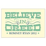 Believe in Greed Large Poster