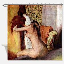 Edgar Degas After Bathing Shower Curtain