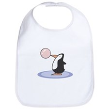 Bubble Gum Penguin Bib