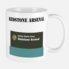 Redstone Arsenal with Text Mug