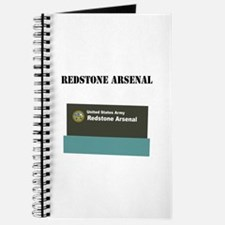 Redstone Arsenal with Text Journal