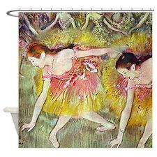Edgar Degas After The Bath Shower Curtain