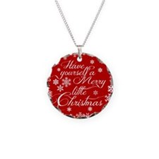 Merry little Christmas Necklace