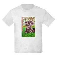Chocolate Labrador by Jocelyn Triggle Kids Light T