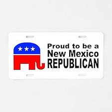 New Mexico Republican Pride Aluminum License Plate
