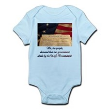 We The People Demand Infant Bodysuit
