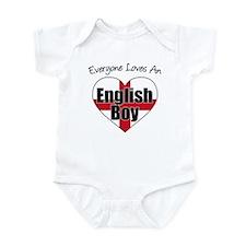 Everyone Loves English Boy Infant Bodysuit