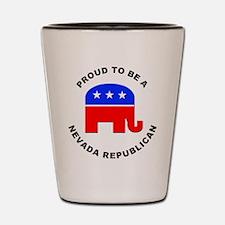 Nevada Republican Pride Shot Glass