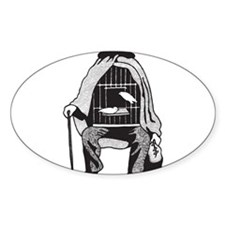 Bird Cage Man Decal