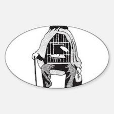 Bird Cage Man Decal