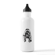 Bird Cage Man Water Bottle