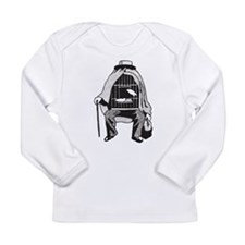 Bird Cage Man Long Sleeve Infant T-Shirt