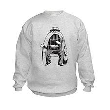 Bird Cage Man Sweatshirt