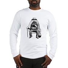 Bird Cage Man Long Sleeve T-Shirt