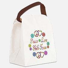 Shih Tzus Canvas Lunch Bag