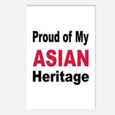 Proud Asian Heritage Postcards (Package of 8)
