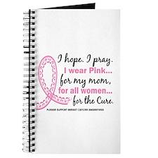 Hope Pray Wear Pink Breast Cancer Journal