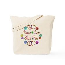 Shar Peis Tote Bag