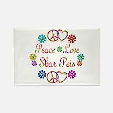 Shar Peis Rectangle Magnet (100 pack)
