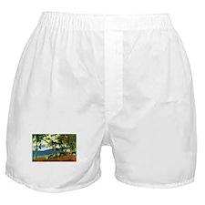 Paul Gauguin Beach Scene Boxer Shorts