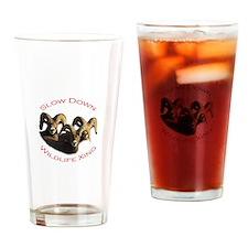 Rams Drinking Glass