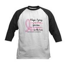 Hope Pray Wear Pink Breast Cancer Tee