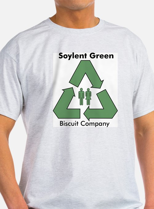 Soylent Green Ash Grey T-Shirt