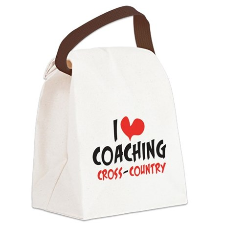 I heart Coaching C-C Canvas Lunch Bag
