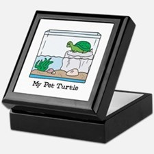 My Pet Turtle Keepsake Box