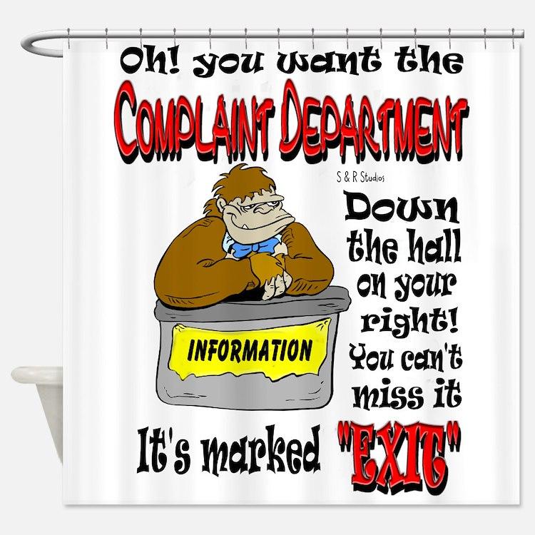 complaints 2b.JPG Shower Curtain