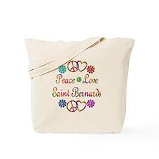 Saint Bernards Tote Bag