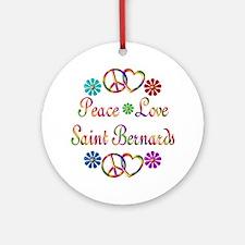 Saint Bernards Ornament (Round)