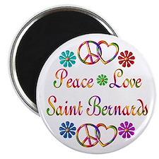 Saint Bernards Magnet