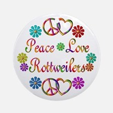Rottweilers Ornament (Round)