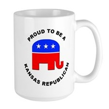 Kansas Republican Pride Mug