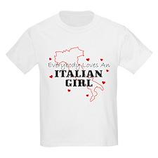 Everybody Loves An Italian Gi Kids T-Shirt