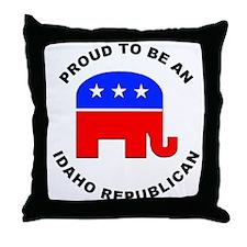 Idaho Republican Pride Throw Pillow