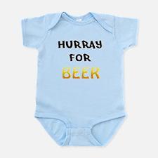 Hurray for Beer Infant Bodysuit