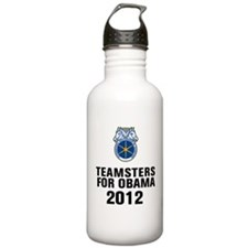 Teamsters For Obama Water Bottle