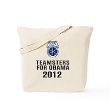 Teamsters For Obama Tote Bag