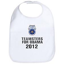 Teamsters For Obama Bib