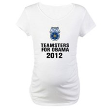 Teamsters For Obama Shirt