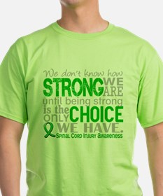 Spinal Cord Injury HowStrongW T-Shirt