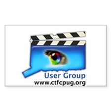 CTFCPUG Rectangle Decal