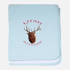 Utah Attitude baby blanket