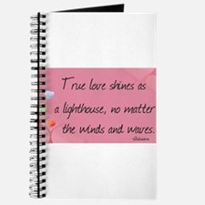 Love Quotes- True love shines as a lighthouse Jour