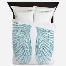 Blue Angel Queen Duvet