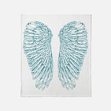Blue Angel Throw Blanket