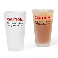 CAUTION: Drinking Glass