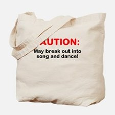 CAUTION: Tote Bag